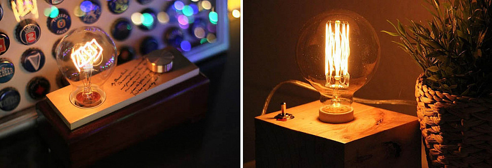 Лампа Эдисона со светорегулятором