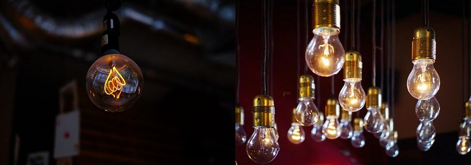 Устройство лампочек