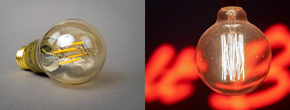 Соответствие мощности ламп накаливания и светодиодных