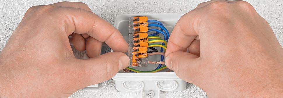 Дополнительные коробки провода